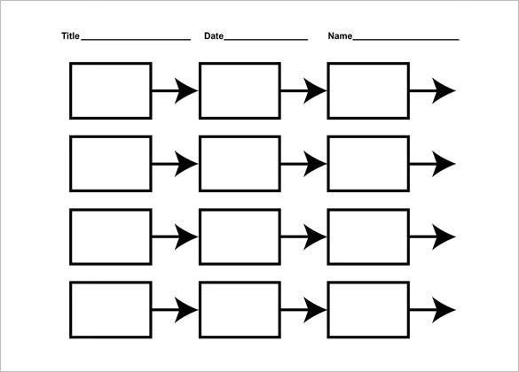 printable blank timeline templates for kids