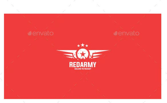 red army logo template1
