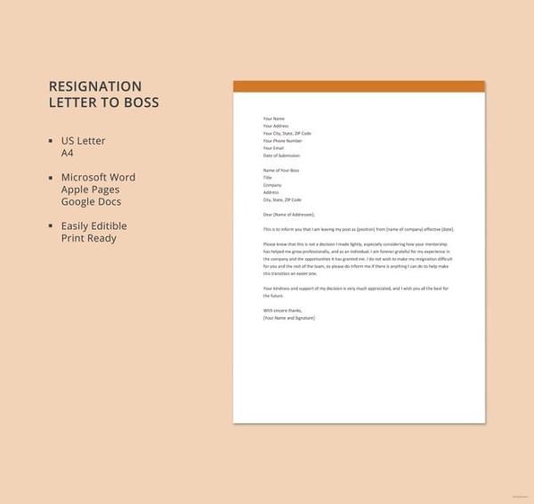 resignation-letter-to-boss