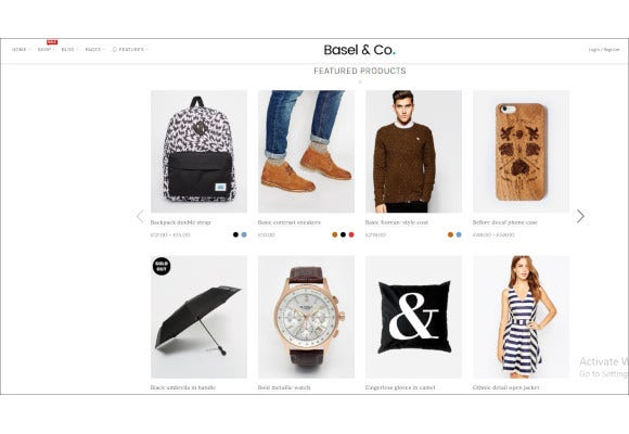 responsive shopify ecommerce theme shop