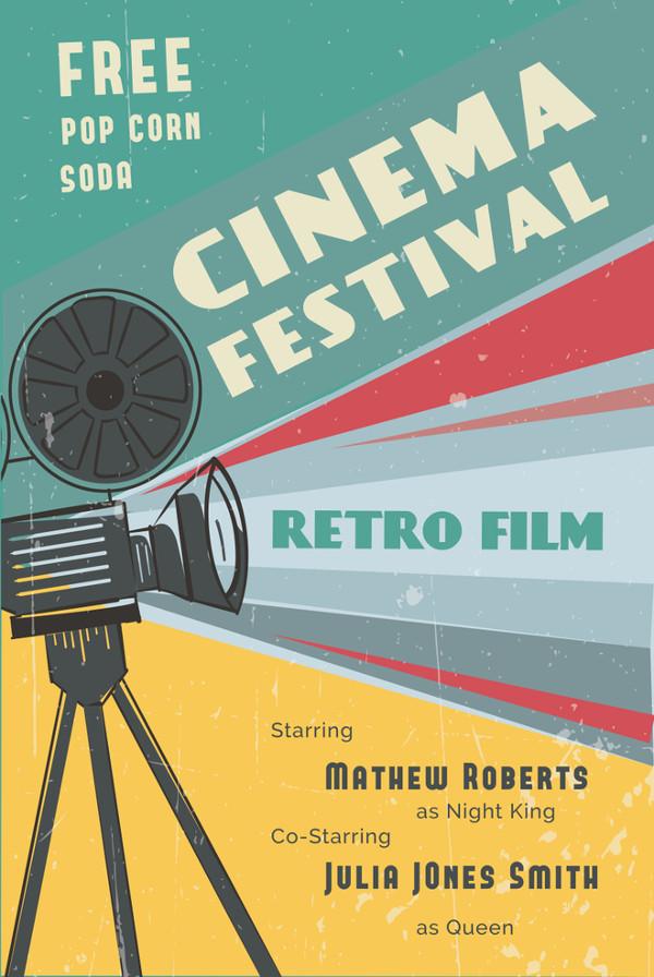 retro-film-poster-illustrator-template