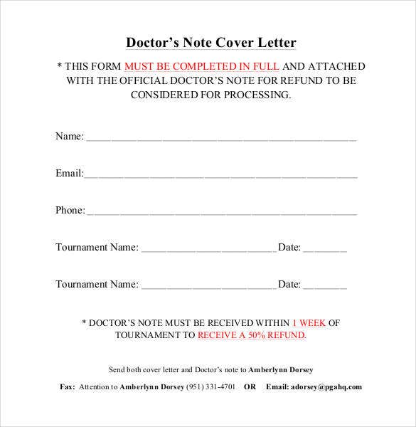 email application letter examples