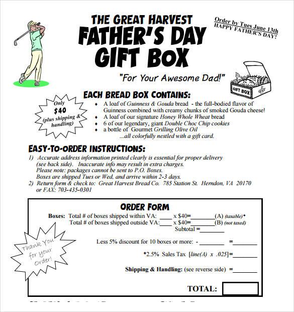sample gift box templates free1