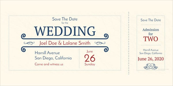 simple-wedding-admission-ticket-template
