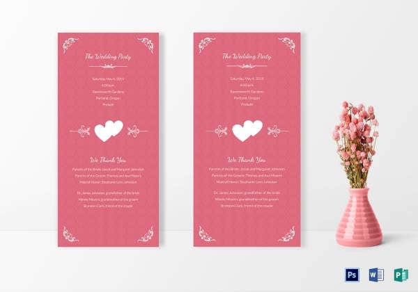 simple wedding invitation card