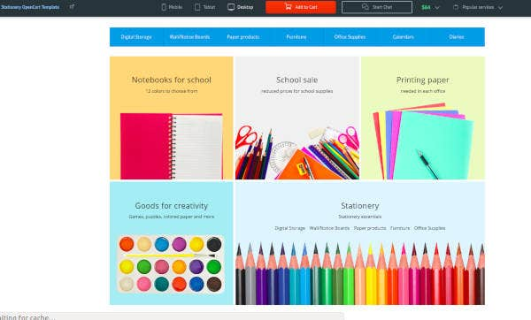 stationery-opencart-template