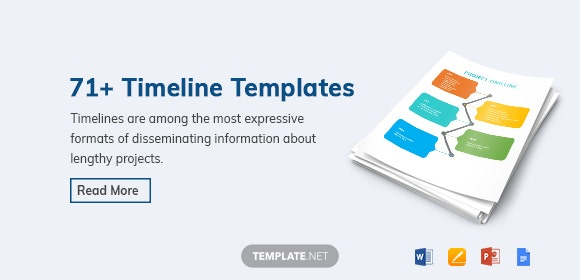 Word Timeline Template | Timeline Template 71 Free Word Excel Pdf Ppt Psd