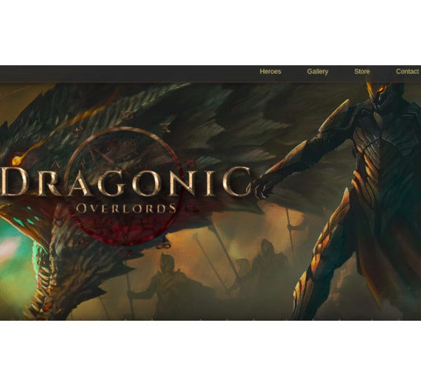 ultimate one page premium gaming template
