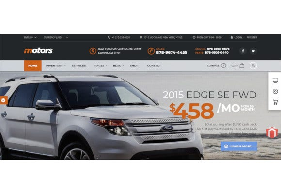 unique-car-dealership-wordpress-theme