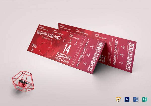 valentine-day-party-ticket-template
