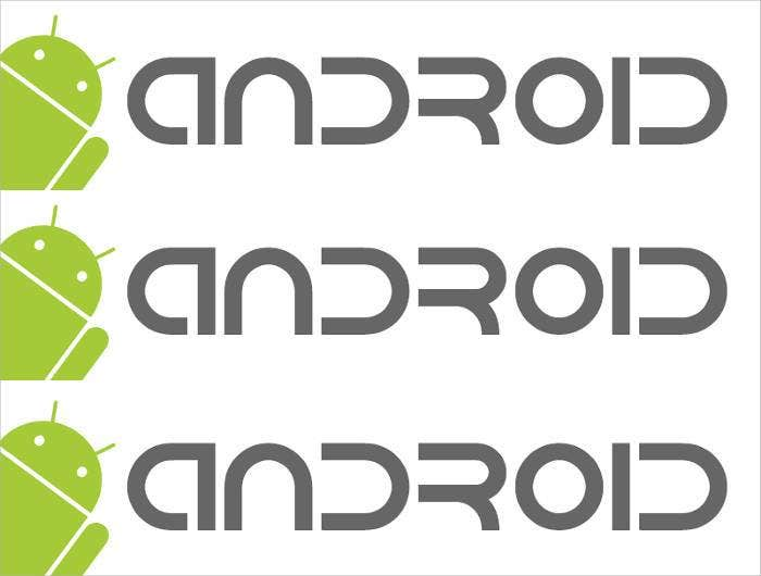 android logo font1