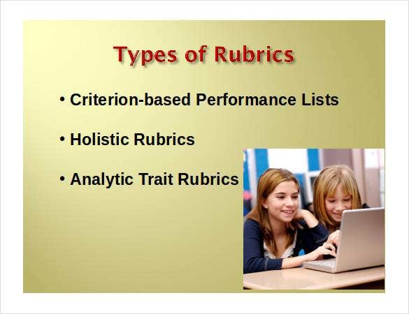 powerpoint-rubric-template