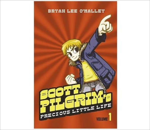 scott pilgrims precious little life graphic novel