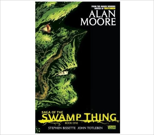 saga of the swamp thing graphic novel