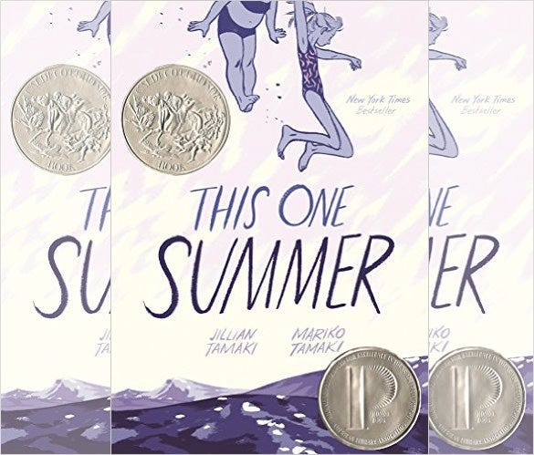 this one summer graphic novel
