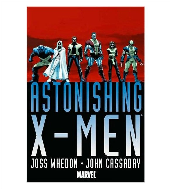 astonishing x men graphic novel