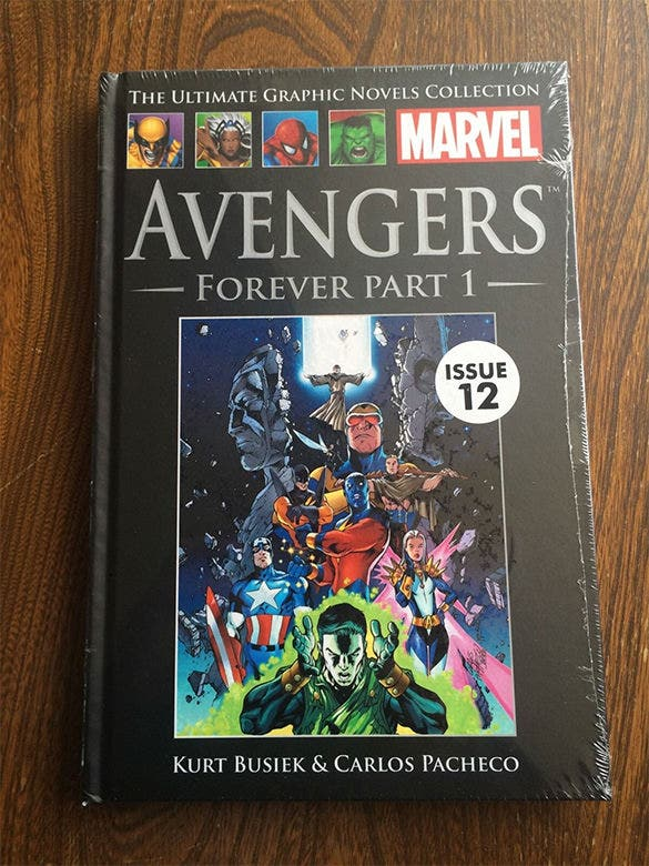 avengers forever part 1 graphic novel