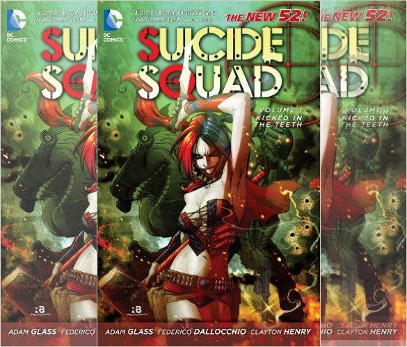 suicide squad graphic novel