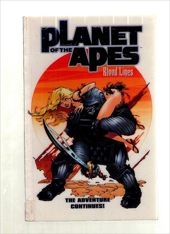 planet of the apes graphic novel