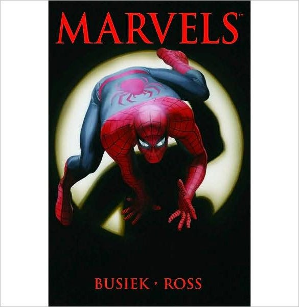 marvels spiderman graphic novel