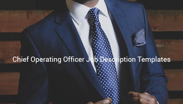 chief operating officer job description template1