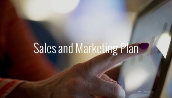 sales and marketing plan template pdf