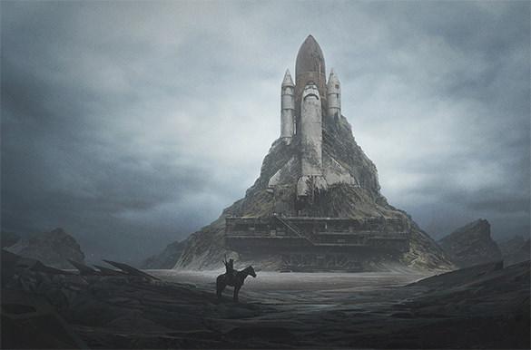 white castle 2d art design download
