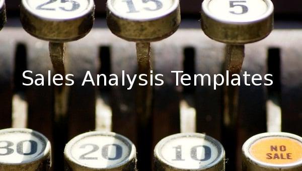 sales analysis templates