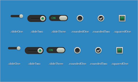CSS3 Checkbox Styles image