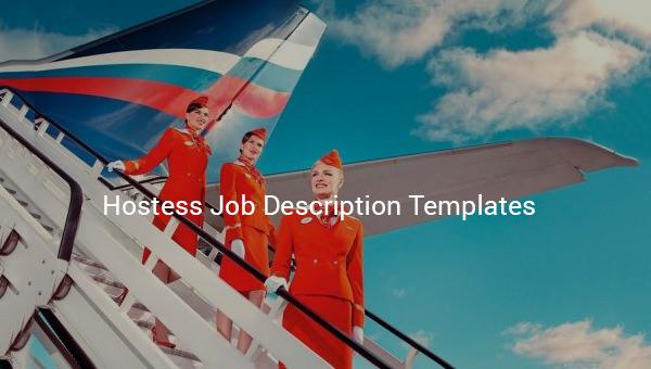 hostessjobdescriptiontemplate
