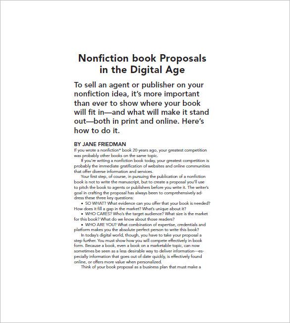 non fiction book marketing plan