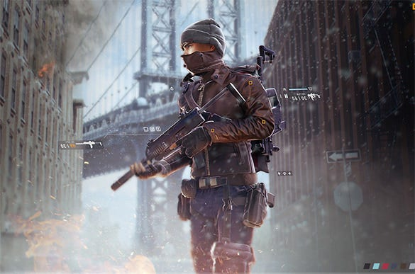 the division character concept