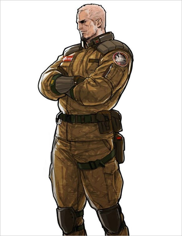 brenner advance wars character