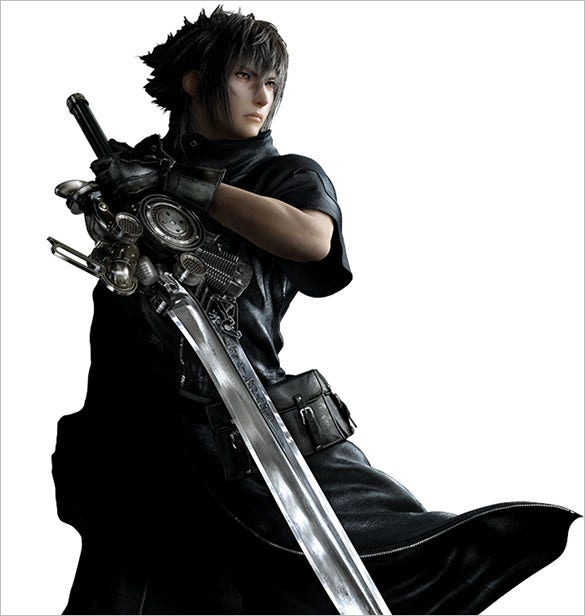 noctis lucis caelum final fantasy character