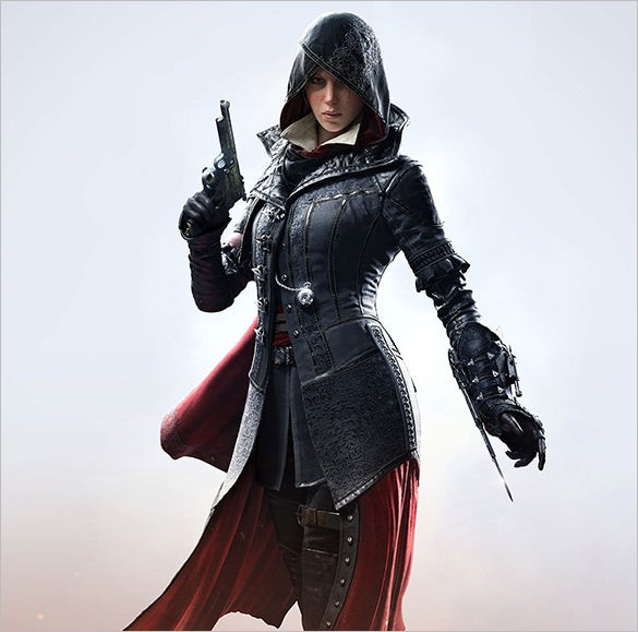 evie assassins creed game character