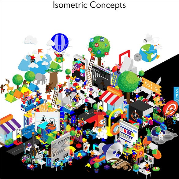 isometric concept design download