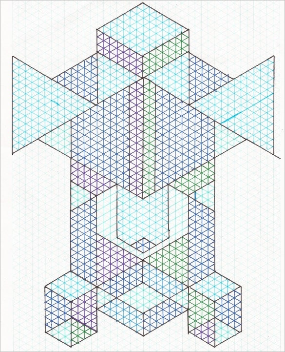 isometric drawing example design