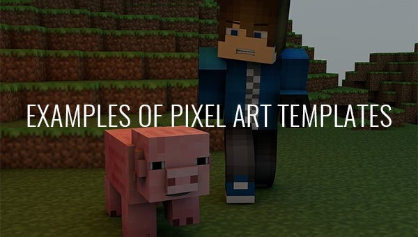 examples of pixel art templates