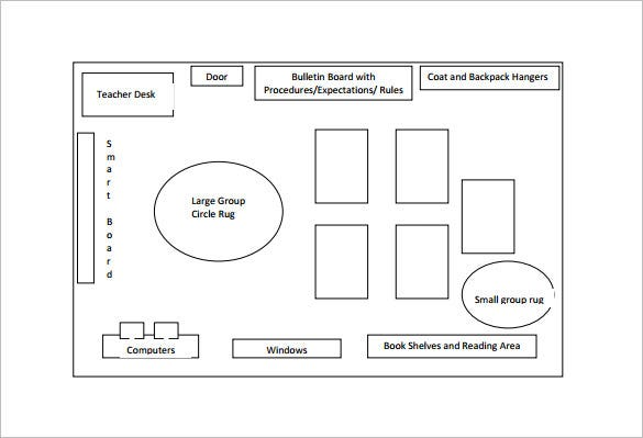 Classroom Seating Chart Template u2013 10+ Free Sample, Example, Format ...