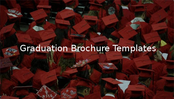 graduationbrochuretemplates