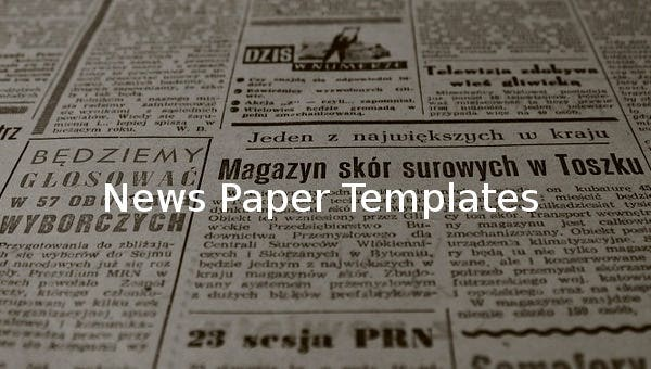 newspapertemplates
