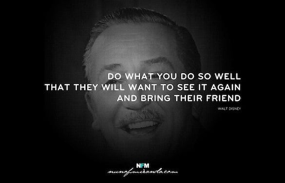 walt disney famous designer quote