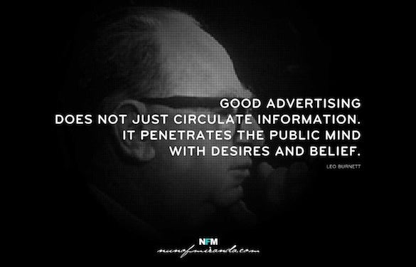 leo burnett designer quote