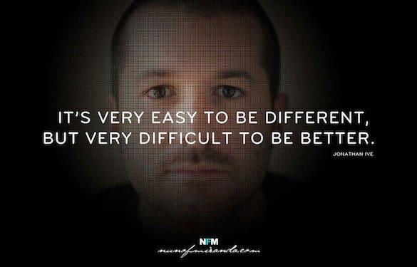 jonathan ive famous designer quote