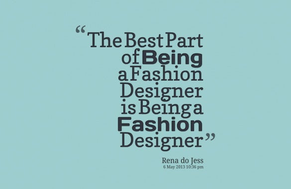 rena do jess designer quote