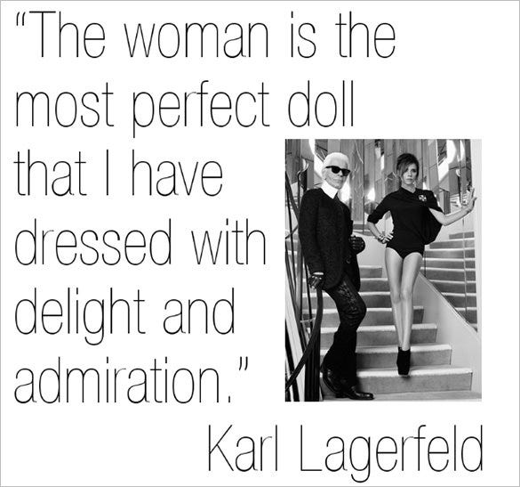 karl lagerfeld famous designer quote