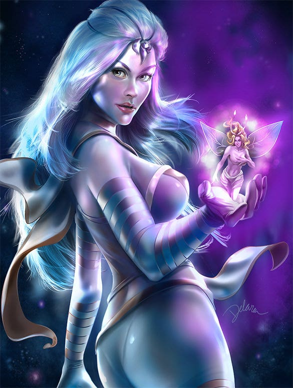 comic cover digital painting