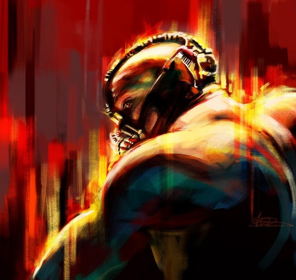 bane digital painting download