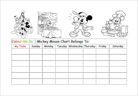 picture relating to Sticker Chart Printable Pdf identified as 12+ Benefit Chart Templates - Document, PDF, Excel Absolutely free
