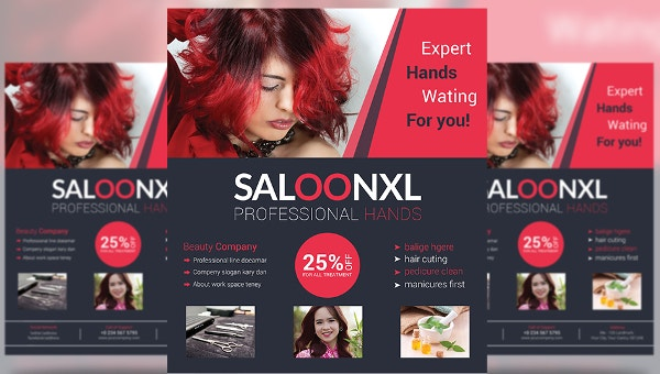 78 Beauty Salon Flyer Templates Psd Eps Ai Illustrator Pages Publisher Free Premium Templates